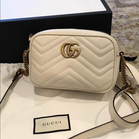 53caea8587ee Gucci Bags | Gg Marmont Mini Matelass Camera Bag | Poshmark